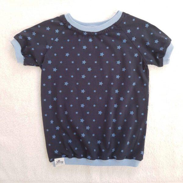 dunkelblaues T-Shirt für Kinder