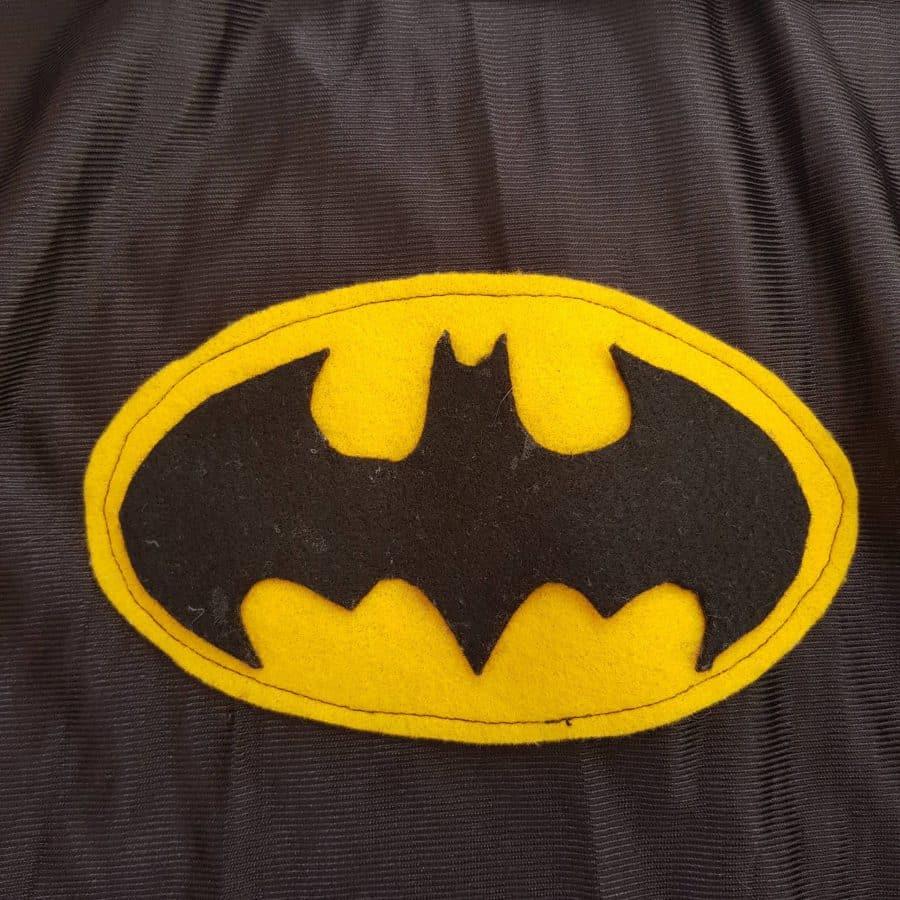 Selbst gefertigtes Batmanlogo