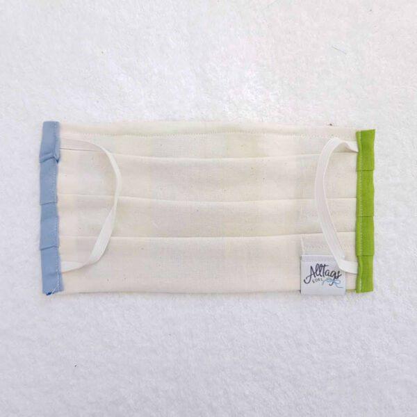 Behelfs-Mundschutz Erwachsene Rückseite