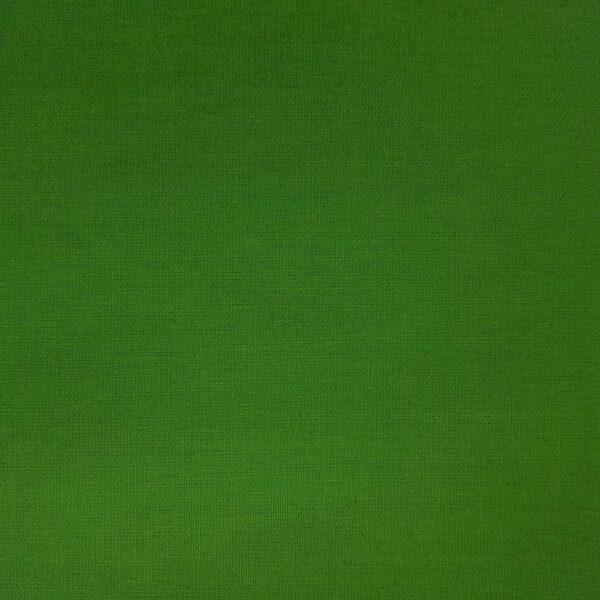 Baumwollstoff grün unifarben